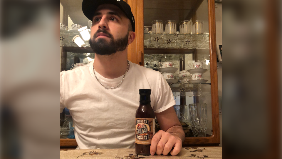 Hussien Mehaidli, a 27-year-old from Burnaby, B.C., said he was fired from his job after complaining over Twitter about a bottle of barbecue sauce given to him as a holiday gift.
