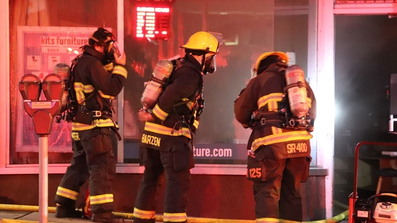 Burrard Fire
