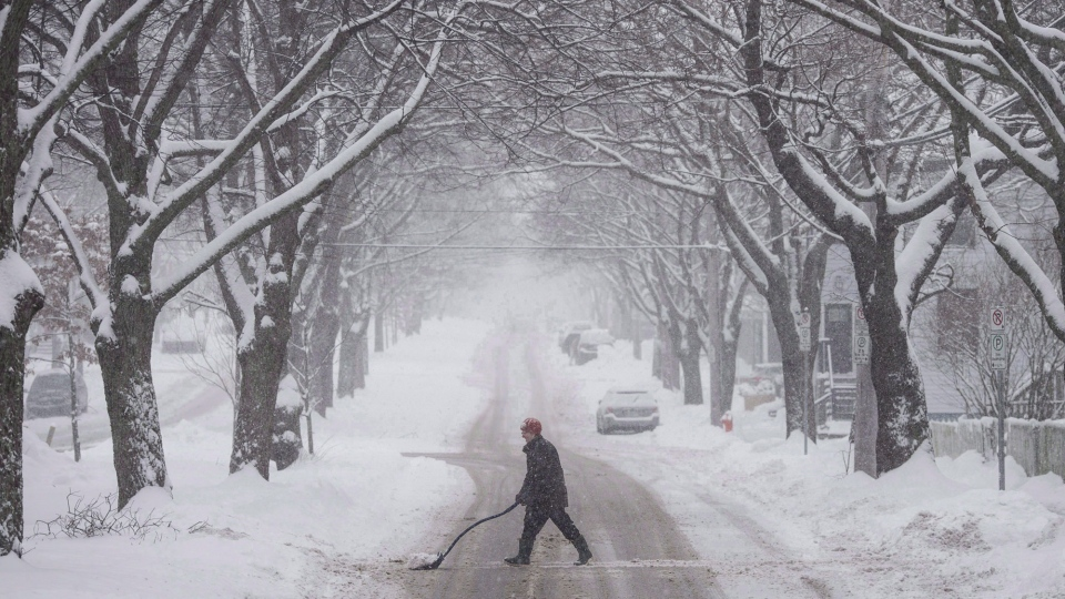 Residents of Atlantic Canada are bracing for another round of nasty weather on Tuesday.