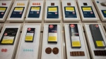 A variety of cannabis edibles are displayed at the Ontario Cannabis Store in Toronto on Friday, January 3, 2020. THE CANADIAN PRESS/ Tijana Martin