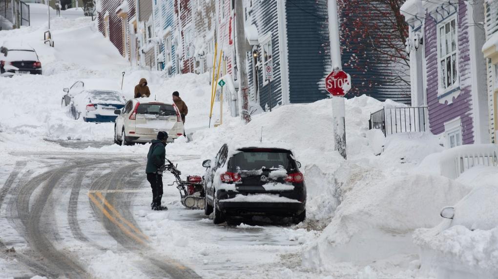 snowstorm 2019 in St. John's