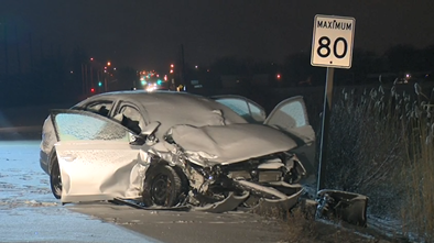 trafalgar road milton crash head-on derry road