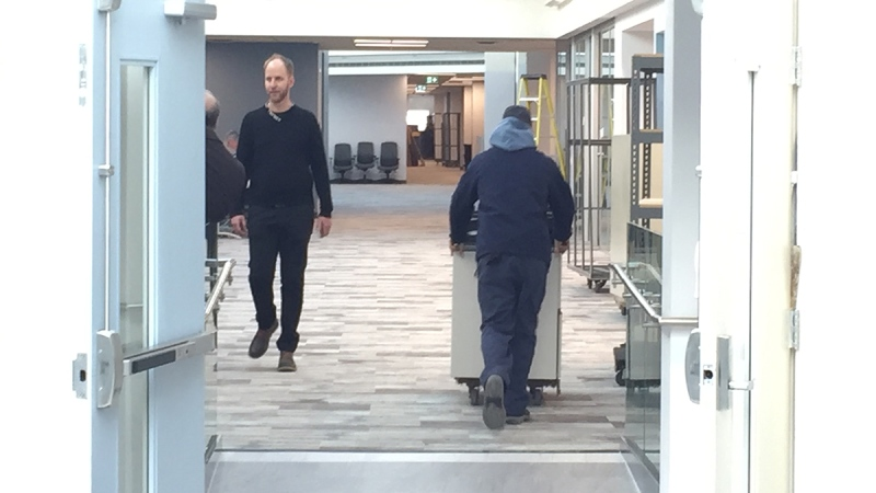 The Middlesex-London Health Unit is moving into its new location at Citi Plaza in London, Ont. on Monday, Jan. 6, 2020. (Bryan Bicknell / CTV London)