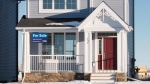 A house for sale is pictured in the Brighton neighbourhood in Saskatoon on Jan. 6, 2020. (Chad Leroux/CTV Saskatoon)