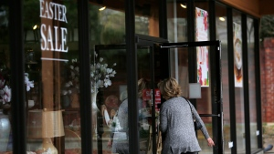 File photo of Pier 1 Imports store. In January, the retailer announced it would close nearly half of its stores and was reportedly nearing a bankruptcy filing. (Luke Sharrett/Bloomberg/Getty Images/CNN)