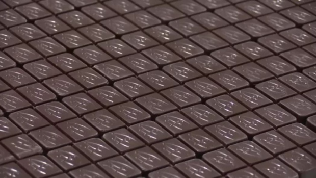Cannabis-infused chocolate is produced at Indiva in London, Ont. in this file photo. (Celine Zadorsky / CTV London)