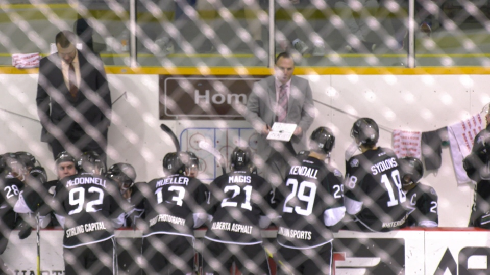 The Sherwood Park Crusaders lead their division with 35 wins in 38 games. (CTV News Edmonton)