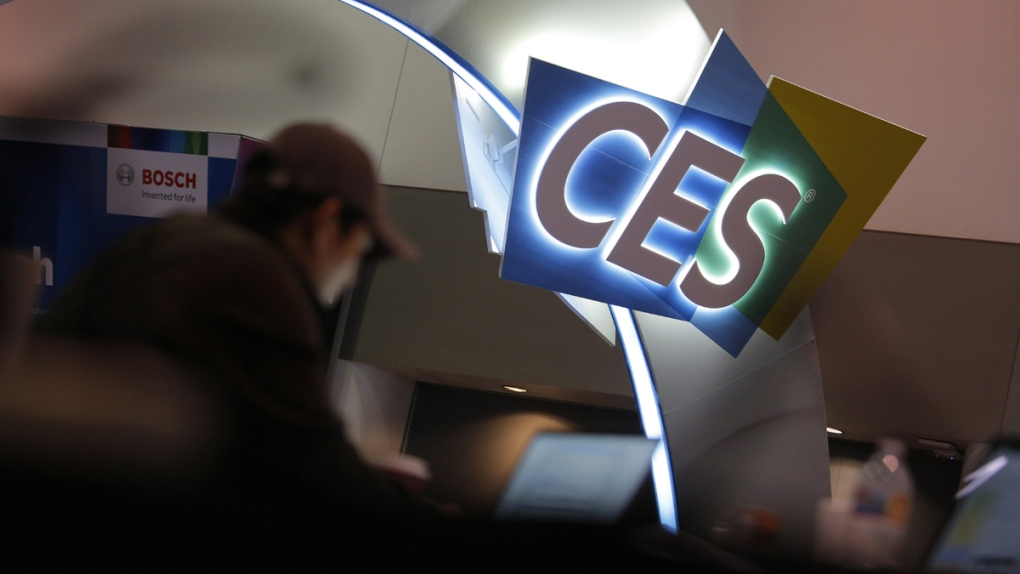 Setting up for CES International in Las Vegas