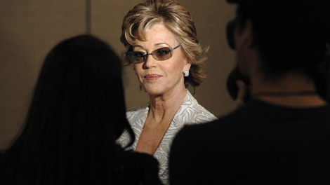 Jane Fonda attends the 75th anniversary of the Drama League Awards ceremony on Friday, May 15, 2009. (AP / Peter Kramer)