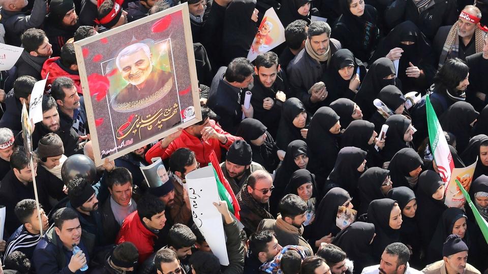 Funeral ceremony for Iranian Gen. Qassem Soleimani