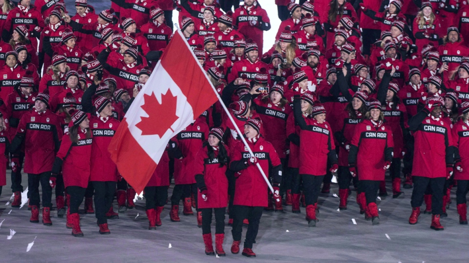 Team Canada at the 2018 Olympics