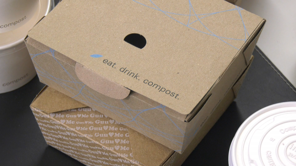 Compostable food containers