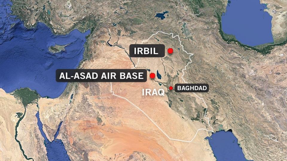 Iran attacks U.S. troops stationed in Iraq