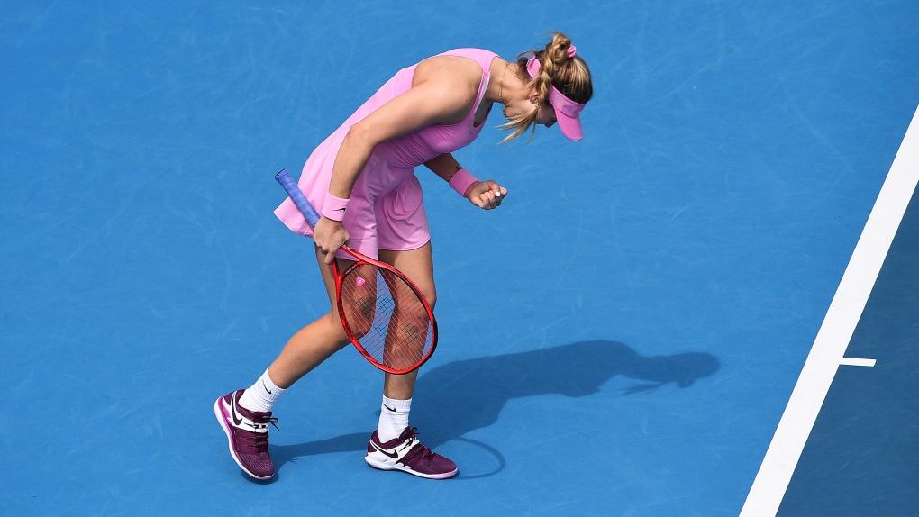 Auckland: Eugenie Bouchard knocks out 8th seed Caroline Garcia