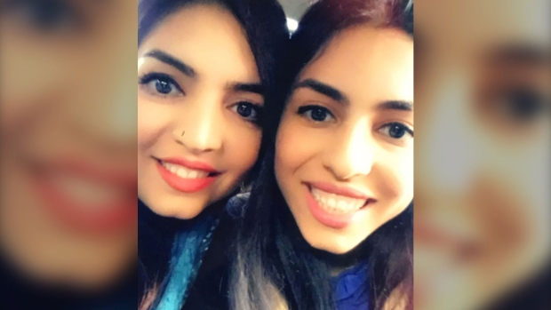 Mandieh and Mansoumeh Ghavi