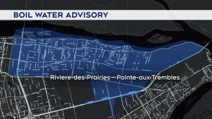This area is under a boil water advisory