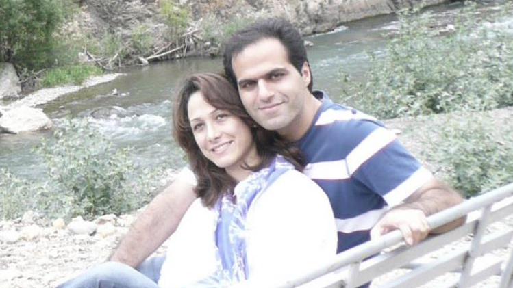 Roja Azadian was killed in the Ukrainian plane crash in Iran. Her husband was supposed to fly with her, but he did not board due to a ticket mix-up.
