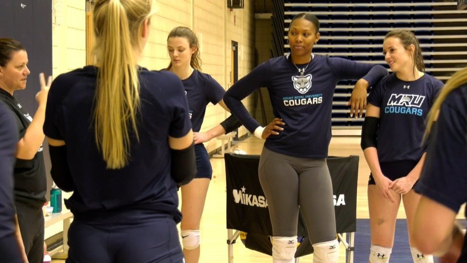 MRU, Tasha Holness, volleyball