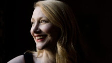 "Actress Patricia Clarkson poses for a photograph as she promotes her new film ""Cairo Time"" at the Toronto International Film Festival on Tuesday September 15, 2009. (THE CANADIAN PRESS / Chris Young)"
