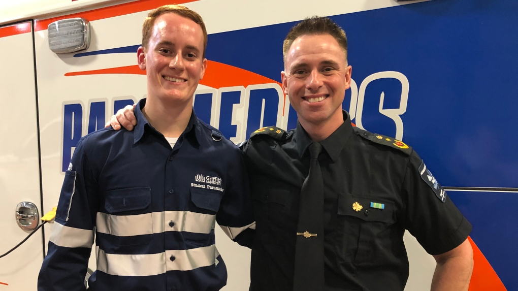 Australian students bearing the cold to learn from Saskatoon paramedics