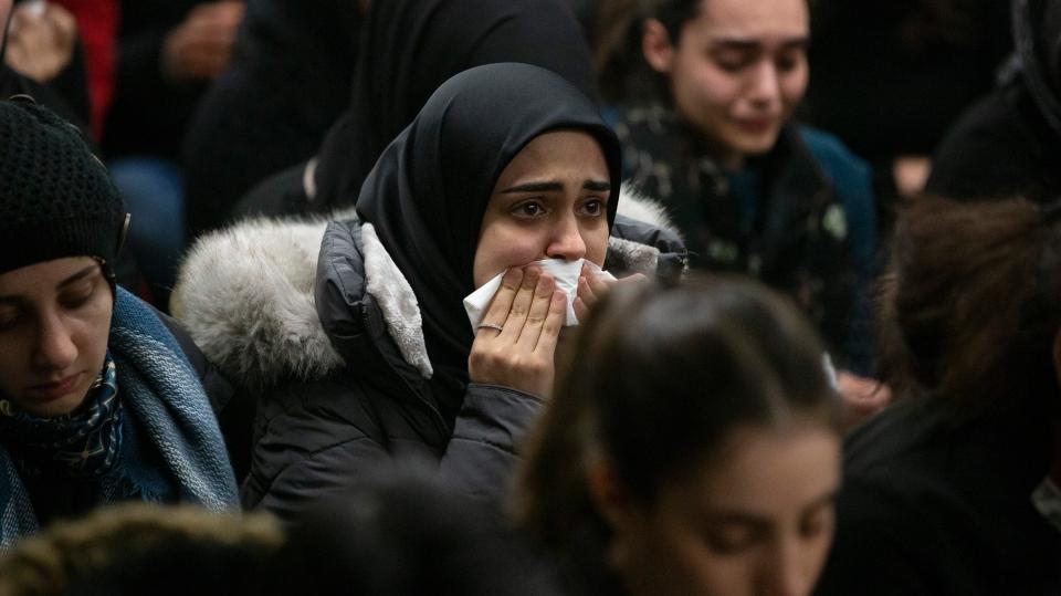 plane crash vigil