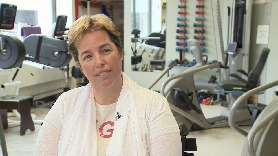 Marcie Stevens battles back