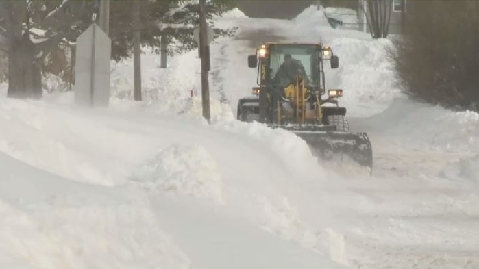 Some parts of Pictou County got 60 centimetres of snow in Wednesday's storm.