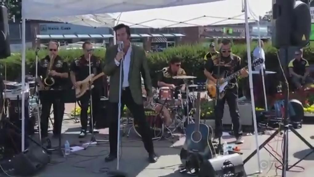 Esquimalt 'Elvis' grateful for unanticipated performing career