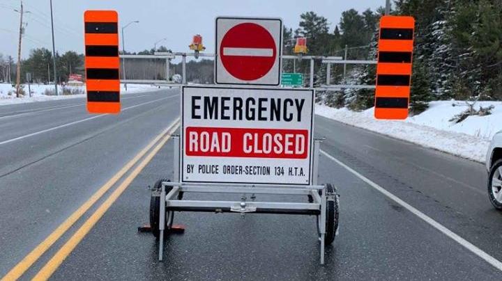 OPP road closure