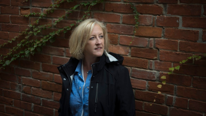 Federal Conservative party candidate Lisa Raitt poses for a photograph near her campaign office in Milton, Ont., on Thursday, October 17, 2019. (THE CANADIAN PRESS/ Tijana Martin)