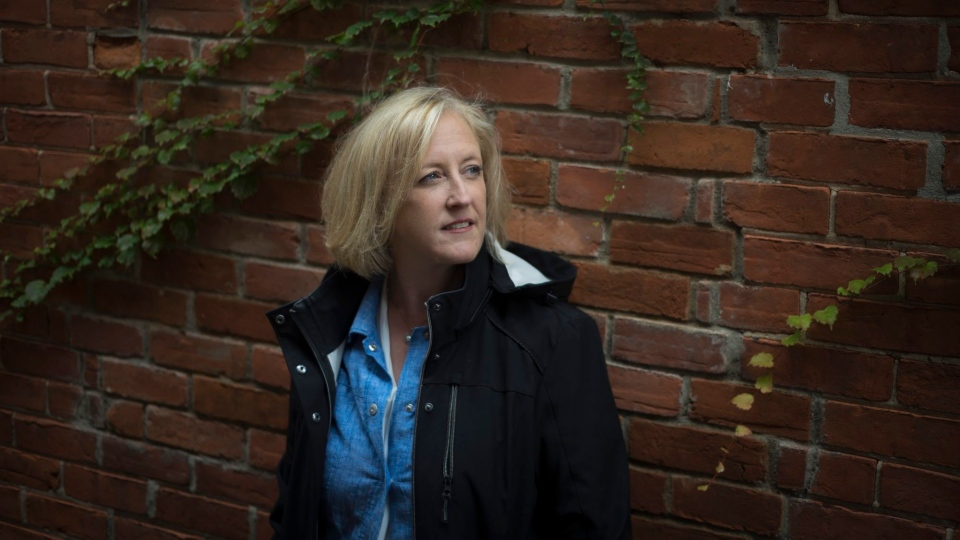 Former Conservative MP Lisa Raitt poses for a photograph in Milton, Ont., on Thursday, October 17, 2019. (THE CANADIAN PRESS/ Tijana Martin)