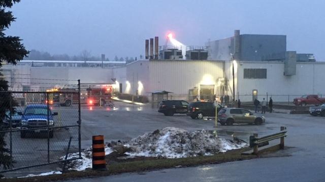 Canadian General-Tower Ltd. fire