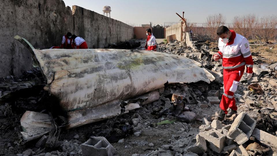 Iranian plane crash