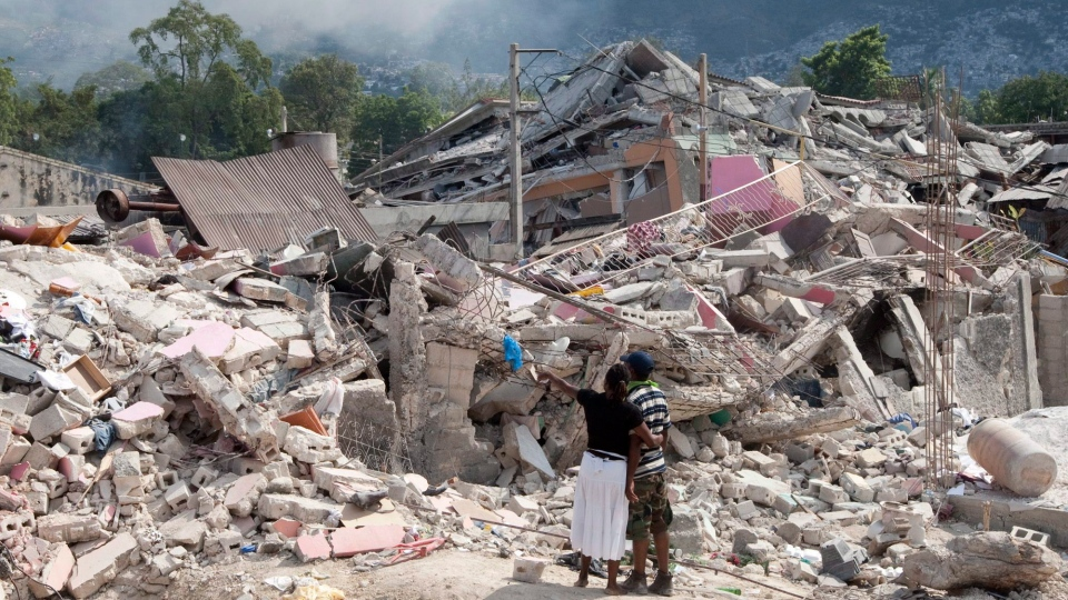 Haitian earthquake remembered in Montreal