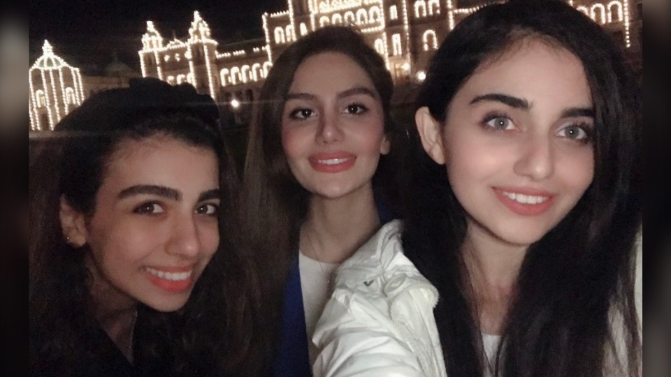 All three women were from Tehran, but they met in Victoria after using the same immigration lawyer to arrange visas to come to UVic, according to Rafiepour. (Mobina Rafiepour)
