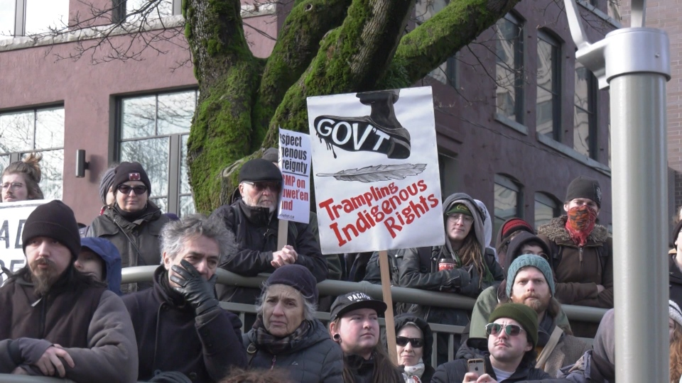 Vancouver pipeline protest
