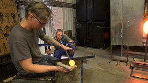 South Shore glass blowing