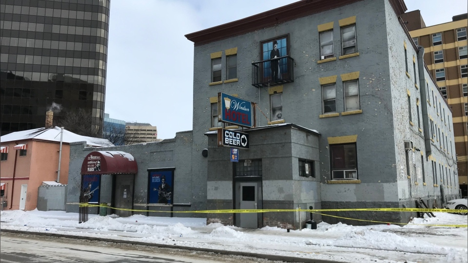 One person is dead and two are in hospital, after a shooting at the Windsor Hotel on Garry Street.