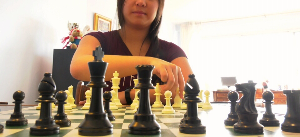 Maili-Jade Ouellet is one of the top female chess players in the world and is preparing for the Women's World Chess Cup in Belarus in September.