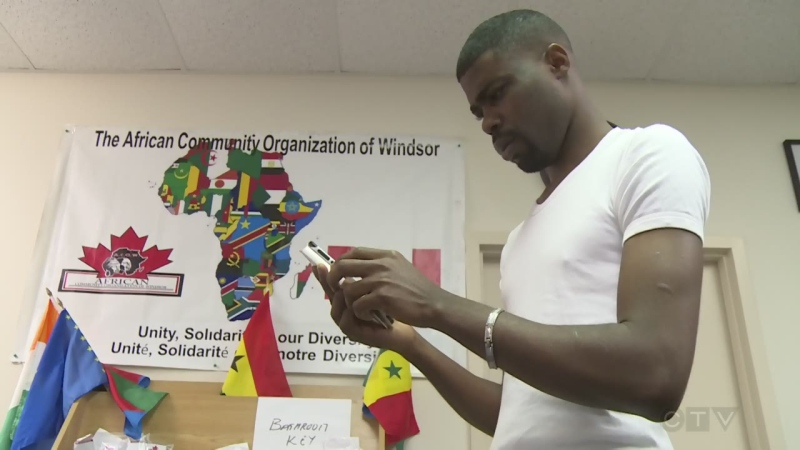 The African Community Organization of Windsor is helping Afeez Bakare and his family, who fear for their lives if they are forced back to Nigeria.