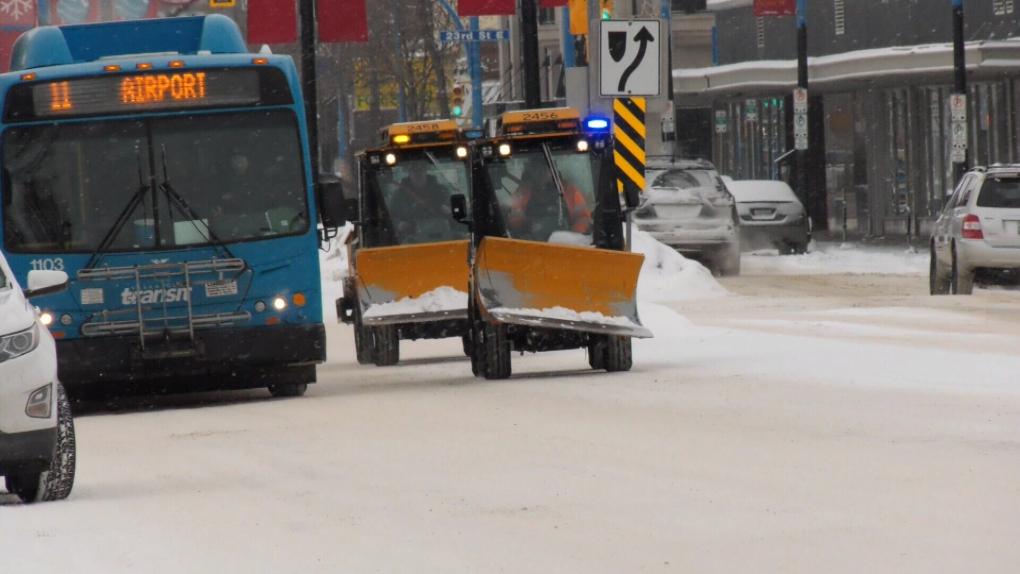 Saskatoon Snow Plows