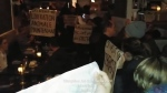A group of animal rights activists disrupted dinner service at Joe Beef on Sat., Jan. 11, 2020.