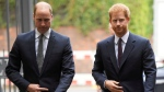 In this Tuesday, Sept. 5, 2017 file photo, Prince William, the Duke of Cambridge, left, and Prince Harry arrive to visit the Support4Grenfell Community Hub in London. (Toby Melville/ Pool via AP, File)