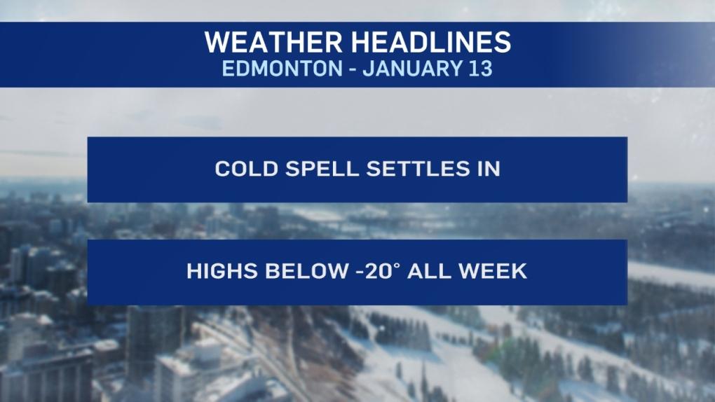 Jan. 13 weather headlines