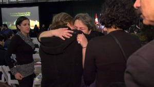 Plane crash victims honoured in Edmonton