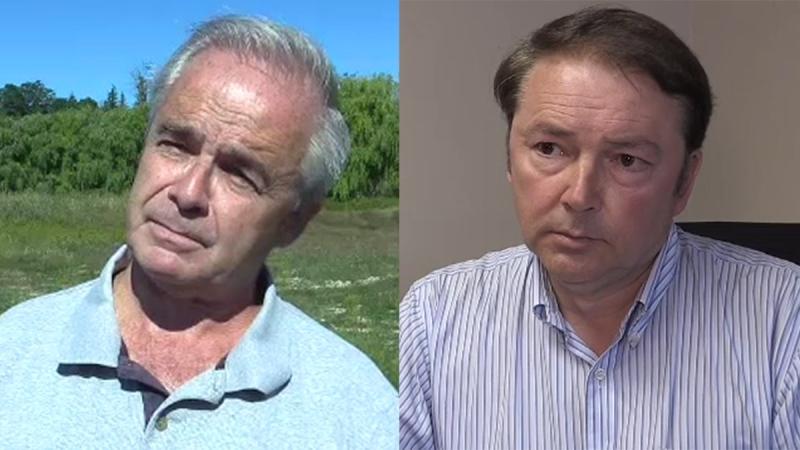 Randy Warden, left, and Paul Van Meerbergen are seen in this composite image.