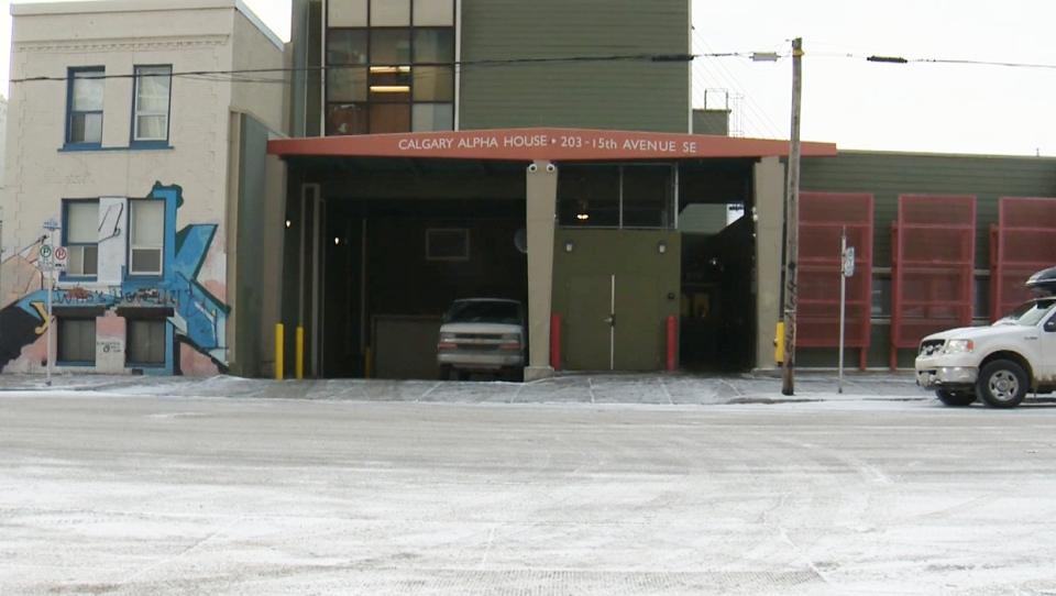 Calgary Alpha House, Alpha House, shelter