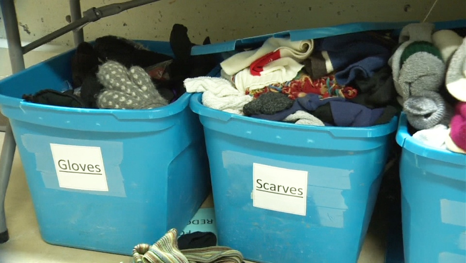 Alpha House, winter clothing, donations