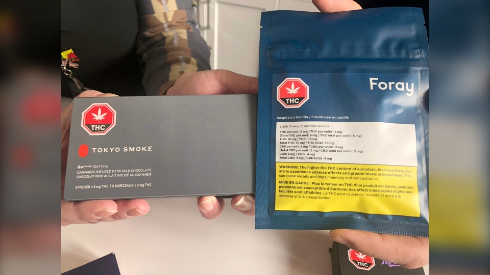 Cannabis edibles will be available in some Calgary stores on Monday.