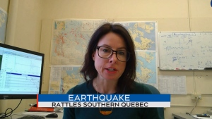 Claire Perry, earthquake seismologist with Natural Resources Canada